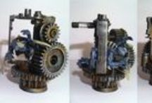 """My Works, terrain and miniatures for WH40k and WHFB / Twórczość własna/ My own miniatures and terrain gallery - """"My Works"""""""