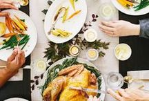 Holiday Entertaining / Tis' the season for festival holiday gatherings. Here are a few of our favorite holiday entertaining pieces.