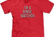Funny TV/Movie T-Shirts / NoiseBot.com funny movie t-shirts for women, men, and kids.  Funny movie shirts with sayings.