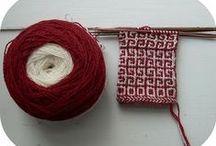 Knitting / Det handlar om stickning