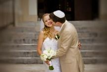 Jewish Wedding At The St. Thomas Synagogue / Beautiful wedding ceremony at the St.Thomas Synagogue followed by reception at the RItz Carlton, St. Thomas, USVI Wedding Planner: Edie Zuckerwar Events; Photographer: Gary Felton