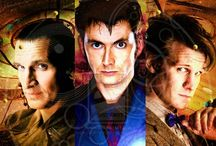 Doctor who / Love this show! My favorite doctor is David Tennant, I also love Rose Tyler, she's an awesome character. I especially love the little love story between Rose and the tenth Doctor. Anyway, great show! / by Alyssa Burk