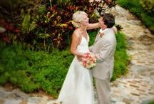 Botanical Garden Wedding / It was a gorgeous day for a wedding at Villa Botanica, St. Thomas Virgin Islands. Wedding Planner: Edie Zuckerwar Events; Photographer: Gary Felton