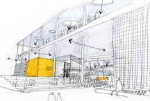 Prospettiva - models - sketches