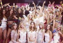 {Victoria Secret} / The faces of fashion.