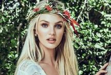 {Candice Swanepoel} / I am proud to say that Candice is South African just like me :)