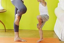 Family Yoga / A healthy lifestyle isn't complete without Yoga it works the mind, body, and spirit. #healthyliving #yoga