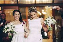 Real Wedding Lucie & Sherryn / Photographer: George Evans
