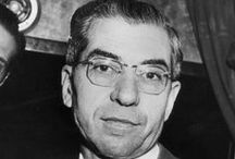 """Gangsters_Charles """"Lucky"""" Luciano / Lucky Luciano & Associates / by Jim Spencer"""