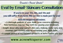 The AcneWhisperer Blog / Sharing insight and advice to achieve Clear Skin at Any Age™ with anti-aging for the acne-prone and acne help for Gen-X to Baby Boom, from Daniela's Facial Studio