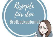 Rezept Brotbackautomat BBA / Sammlung von Rezepte für Brote und Kuchen aus dem Brotbackautomat (BBA). Viele leckere Ideen aus dem Brotbackautomaten.