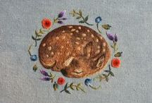 Chloe Giordano / My most favorite embroidery artist. I love ALL of her work.