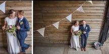 Real Wedding of Emma & Ben at Upwaltham Barns / Photography by Paul Fletcher