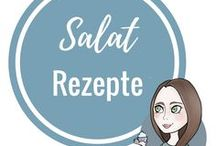 Salat Rezepte / Salat Rezepte als Hauptspeise oder Beilage. Sowohl grüner Salat, als auch Nudelsalat oder ausgefallenere Salate wie Couscous Salat.