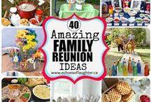 Family Reunion: Creative DIY Ideas