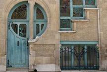 Fancy Doors / We believe that as the entrances to buildings, doors should be at least a little bit fancy!