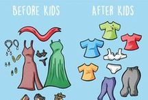 Funny: Before & After Kids / Have you ever noticed those subtle (or not so subtle) differences between life before and after kids? So have we, so we've created our funny BeHappyMum Before & After Kids series for parents to laugh at!