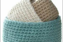 Crochet: Baskets