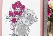 Cross Stitch: Tatty Teddy