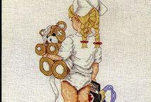Cross Stitch: Children