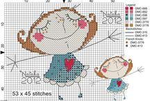 Cross Stitch: Cartoons