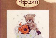 Cross Stitch: Popcorn