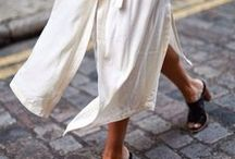 What to wear: ladies / effortless chic // colours: everything except for black and white