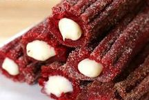 Sweet, Sweet Churros / Churros are my favourite food group! A collection of sugar-coated, drool-inspiring recipes and images.