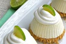 Luscious Lime Treats / Mouth-watering lime desserts, lime beverages, and other lime treats - all in the BEST flavour.