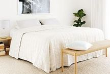 Bedroom Ideas / Inspiration and ideas to make your bedroom a beautiful place.