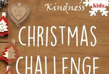 Kids Christmas Challenge / Join our Kids Christmas Challenge with 12 Acts of Kindness to make this Christmas special.