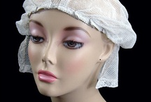 Vintage Hats / The best dressed Heads from Lizzies Vintage Linens - Cocktail Hats, Cloche Hats, Pillbox Hats- Bucket Hats,Lace & Feather Hats, from the 20s to 60s.