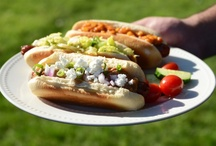 HOT DOGS & SAUSAGES - Variety of Flavors / by Sherry Mulder