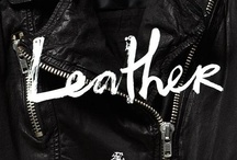 Leather / by Trude Hauge