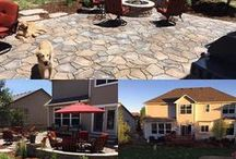 Before & After Outdoor Living Spaces