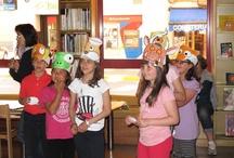 La hora del cuento / Cuentos y actividades para realizar despues del cuento / by Biblioteca Infantil