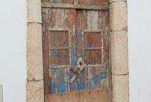 Behind the Door / Doors from typical European villages