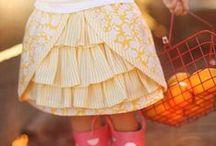 little girl`s fashion