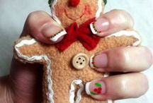Christmas Nails / These are the Christmas nails I've made this year. Hope you like them!