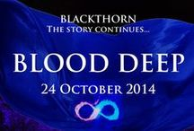 Blood Deep (Blackthorn Book 4) / Introducing Eden and Jessie. Blood Deep is book 4 in my Blackthorn paranormal romance series, published by Bookouture. Blood Deep will be available later this year.  / by Lindsay J. Pryor