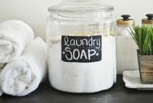 DIY Cleaners, Soaps and etc