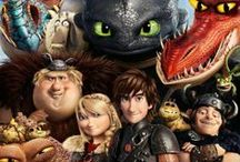 how to train your dragon 1 and 2 / dragons