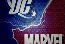 Marvel and DC / Characters and all from both Marvel and DC. So you CAN get the best of both worlds ;P / by Taylor Sewell