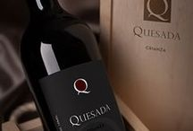 Quesada Wine Cellar / Quesada Wine Cellar - Corporate identity, labels, catalog, package and cards