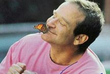 Robin Williams / Captain my captain, God bless you and your tinkly eyes!xxx Your Mrs Doubtfire rock out dedicated my life long love to Rock!