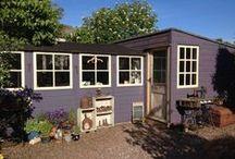 The Purple Thread Shed / My studio/workshop in Roslin near Edinburgh