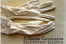 A Group Gathering - 2015 / This year's Daphne's Glove project slowly unfolds. Artists taking part are: Tamsin Abbott, Claire A Baker, Sarah Burford, Ali Ferguson, Caren Garfen, Sharon Hall Shipp, Christine Kelly, Jeanette McCulloch, Kathleen Murphy, Mandy Pattullo, Karen Shapley, Mariette Voke www.agroupgathering.blogspot.co.uk