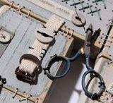 Ali Ferguson - Wood Work Patchwood Samplers / Hand stitched wooden samplers by Ali Ferguson
