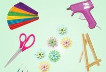 Let's Get Crafty / Everything you need for DIY awesomeness.