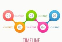 web design, infographic ideas, timeline, circles